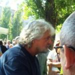 Beppe Grillo a Parma